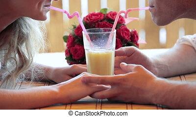 drink juice together