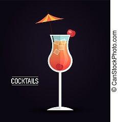 drink menu cocktail restaurant bar design