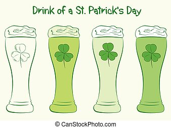 Drink of a St. Patrick's Day