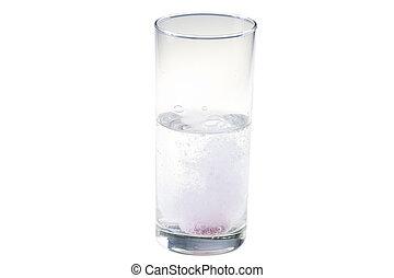 Drink of effervescent tablet