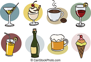 drink set - food set