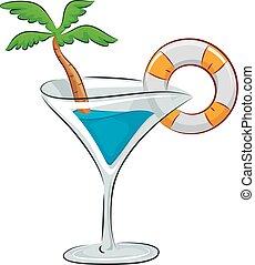 Drink Spring Break Party Garnish