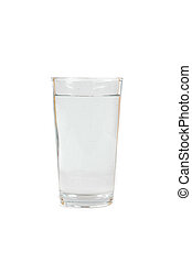 drink water in glass