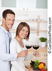 Drinking couple