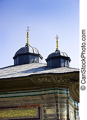 Drinking fountain of Ahmed III in Istanbul