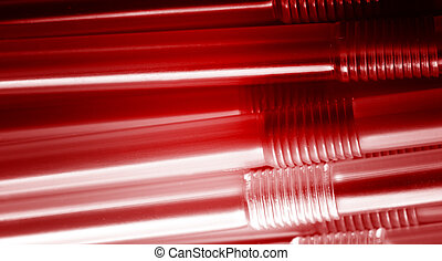 Drinking straw closeup fine detail abstract background