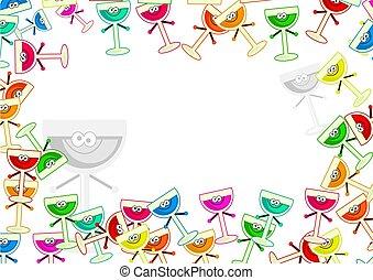 drinks border