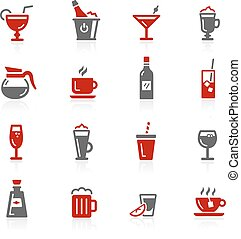 Drinks Icons - Redico Series