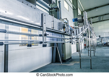 drinks production plant in China