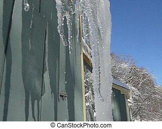 drip - ice melting drop by drop