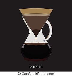dripper, caffè