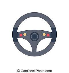 drive  flat color icon