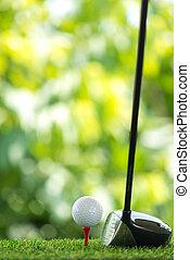 drive golf - drive a golf ball on tee