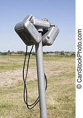 Drive-In Speaker - A car speaker from a vintage drive-in...