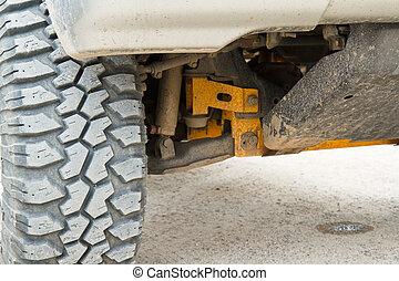 drive., quatre roues motrices, pneu