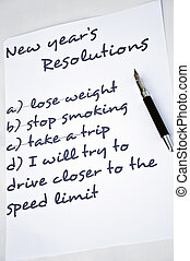 Drive safer - New year resolution drive safer