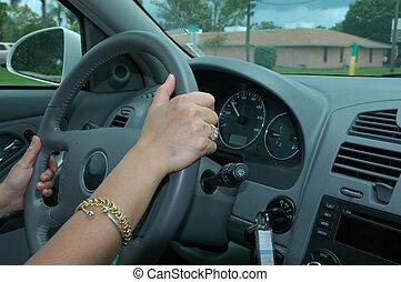 Drive - Driving a car