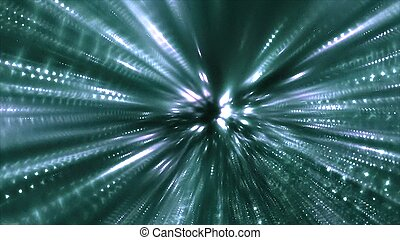 Drive Through Hyperspace Tunnel Motion