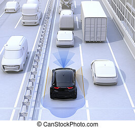 Driver assistance systems for autonomous car