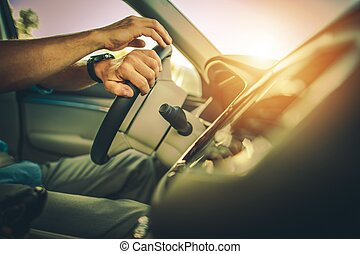 Driver Behind the Wheel