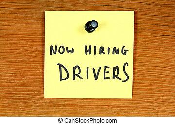 Driver career
