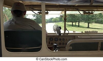 Driver of Safari Truck