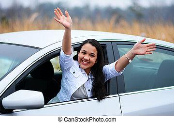 driving, автомобиль