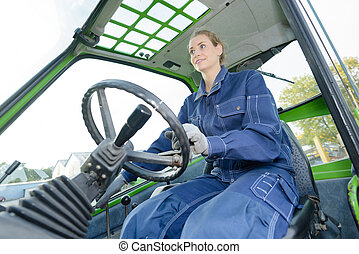 driving a heavy duty vehicle