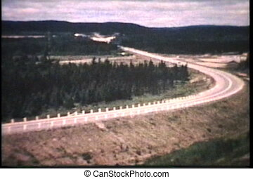 Driving Across Canada (1964) - A family stops at a local...