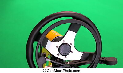 Driving Controls For Disabled - Steering wheel and driving...