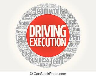 Driving Execution circle