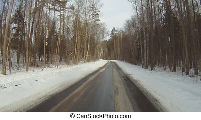 Driving in winter 3
