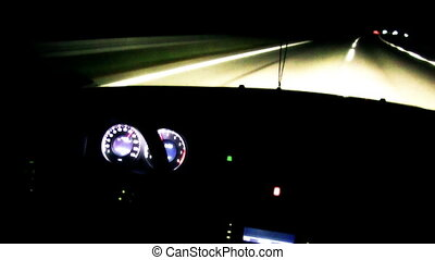Driving Night Time Lapse 03
