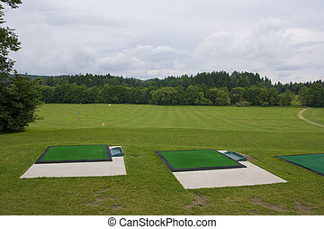 Driving range with driving maths
