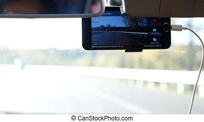 Driving road car phone - Using phone while driving road