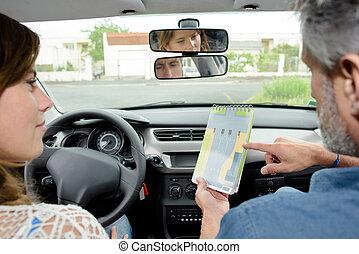driving teacher