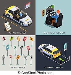 Driving Test Design Concept