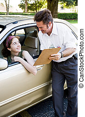 Driving Test - You Passed