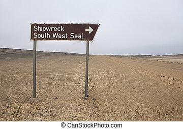 Driving the Skeleton Coast