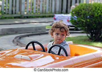 Driving Toddler