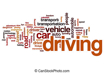 Driving word cloud