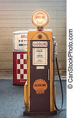 drivmedel, pump., gammal