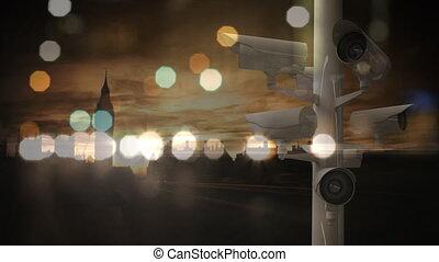 droga, kupczenie miasta, noc