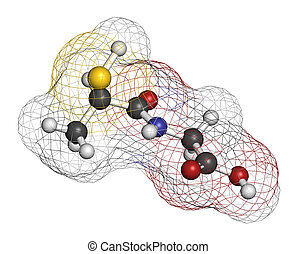 droga, tiene, molecule., tiopronin, ato, status., huérfano, ...