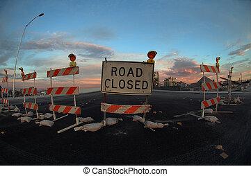 droga zamknęła