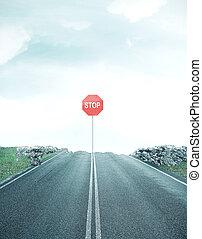 droga, zatrzymajcie znaczą, dont