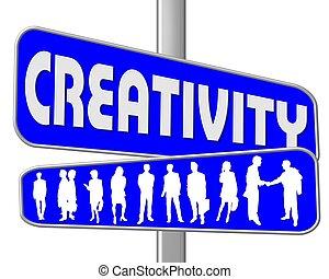 droga znaczą, błękitny, twórczość