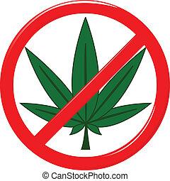 drogas,  no