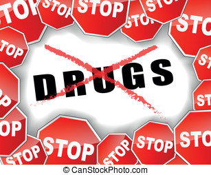 drogas, parada