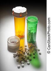 drogues, monde médical, pilules